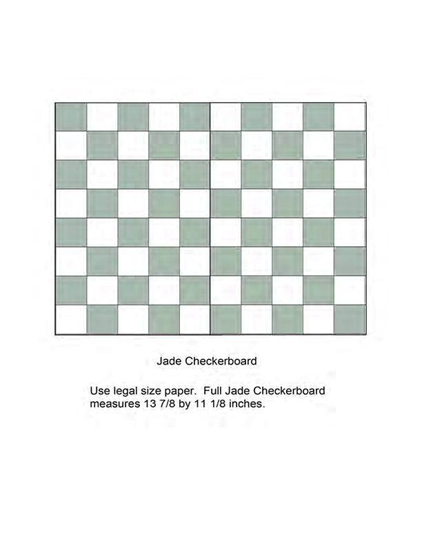 Jade Checkerboard