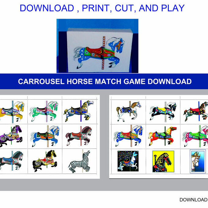 CARROUSEL-HORSE-MATCH-GAME-DOWNLOAD
